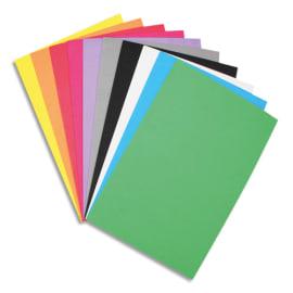 SODERTEX Sachet de 10 Feuilles en mousse EVA - Format : 20 x 30 cm, épaisseur 2 mm, 10 coloris Assortis photo du produit