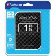 VERBATIM Disque dur 2,5 USB 3.0 Store'N'Go Style 1To Noir 53194 photo du produit