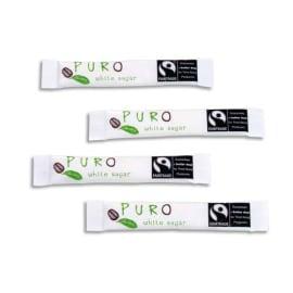 PURO Boîte de 500 Buchettes de sucre Blanc 5g photo du produit
