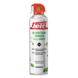 JELT Aérosol dépoussiérant BOOSTAIR GREEN toutes positions gaz 1234ze HFO sans HFC 650ml/300g 108920 photo du produit