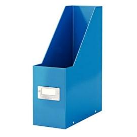 LEITZ Porte-revues CLICK & STORE - Dimensions : L103xH330xP 253mm - Coloris : Bleu Wow photo du produit