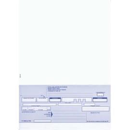 ELVE Paquet de 100 lettres de change 21x29,7 100f 1 traite avec traite en pied prédécoupée photo du produit
