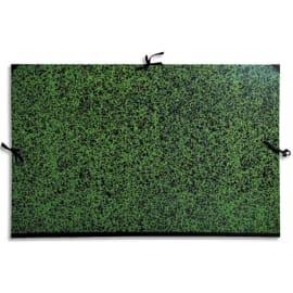 EXACOMPTA Carton à dessin fermeture par rubans 67x94 cm pour feuille 60x80cm photo du produit