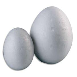GRAINE CREATIVE Sachet de 25 œufs styropor 45 x 60 mm photo du produit