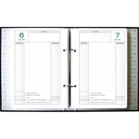 EXACOMPTA Recharge pour classeur Caisse perpétuel 1 jour par page - format : 16 x 24 cm photo du produit