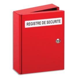 LIFEBOX Coffret registre de sécurité, protège le Livret de sécurité relatif à un ERP L35xH26,5xP6,5 cm photo du produit