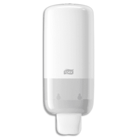 TORK Distributeur de savon mousse Elevator S4, 2500 doses en abs - Dim. L11,3 x H28,6 x P10,5 cm Blanc photo du produit