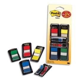 POST-IT Lot de 4x50 marque-pages standards coloris assortis standard et 2x24 marque-pages étroits flèche photo du produit
