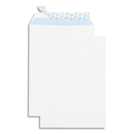 GPV Boîte de 250 pochettes auto-adhésives velin Blanc 90g format 229x324 C4 photo du produit
