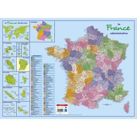 CBG Sous main carte de France format 40,5 x 55 cm photo du produit