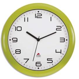 ALBA Horloge murale Hornew anis en ABS et verre - pile AA non fournie - Diamètre 30 cm, profondeur 4 cm photo du produit