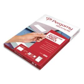 PERGAMY Boîte 1000 étiquettes 105x57mm multi-usage en planche A4. Coins carrés photo du produit