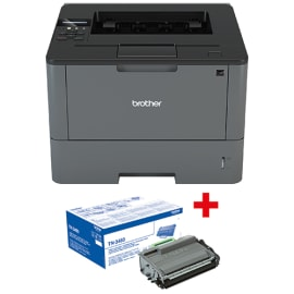 BROTHER Imprimante laser monochrome HL-L5200DW + toner TN3480 photo du produit