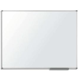 NOBO Tableau Blanc laqué Classic Nano Clean™, magnétique, cadre aluminium. Dim. L180 x H90 cm photo du produit