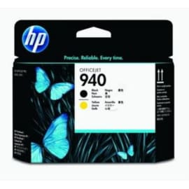 HP Tête d'impression Noir/Jaune 940 C4900A photo du produit