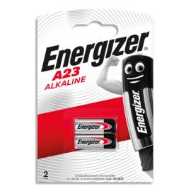 ENERGIZER Blister de 2 piles alcalines A23/E23A 7638900295641 photo du produit