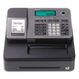 CASIO Caisse enregistreuse SES100 petit tiroir argent SE-S100SB-SR-FR compatible fiscalité 2018 photo du produit