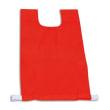 FIRST LOISIRS Lot de 12 chasubles simples 60 x 35 cm, coloris : Rouge photo du produit