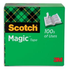 SCOTCH Boîte individuelle Scotch® Magic™ 19 mm x 33 m photo du produit