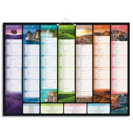 CBG Calendrier Bancolor, 7 mois par face soit 14 mois - format : 40,5 x 55 cm photo du produit