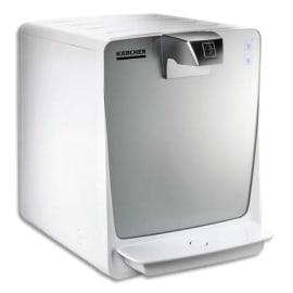 KARCHER Fontaine à eau WPD 50 Blanc Gris, à raccorder au réseau d'eau potable L30 x H39,5 x P35 cm photo du produit