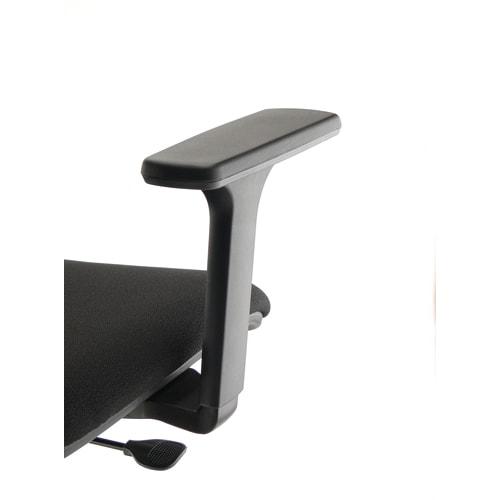Paire d'accoudoirs réglables 3D Noirs pour sièges Kilima et Gaz photo du produit Principale L
