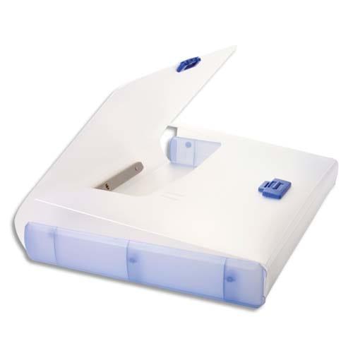 TARIFOLD Valisette Bleue polypro rigide, format 26,1x36,7x4,4 photo du produit Principale L