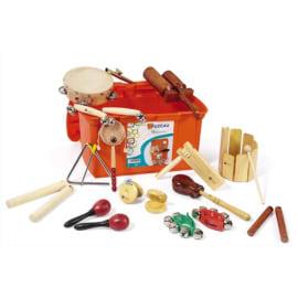 FUZEAU Malle comprenant 16 instruments de musique photo du produit