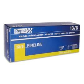 RAPID Agrafes Nº13/6 en boîte de 5000 photo du produit