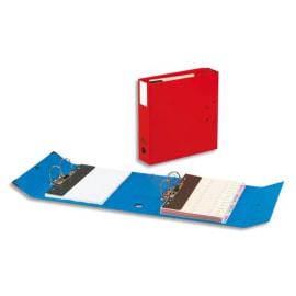ARIANEX Classeur à deux leviers Millex en PVC intérieur et extérieur Rouge,dos de 9.5cm photo du produit