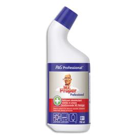MR PROPRE Flacon 750 ml Gel WC nettoyant et détartrant des toilettes et urinoirs parfum frais photo du produit
