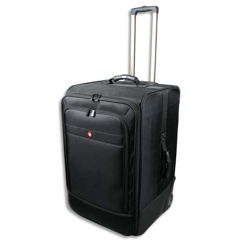PORT DESIGNS Trolley Bristol L en nylon balistique HR - Dimensions : L36 x H43 x P40 cm coloris Noir photo du produit Principale L