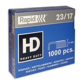 RAPID Agrafes N°23/17 en Boîte de 1000 photo du produit
