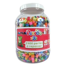 PERLOU Bocal de 2400 perles à repasser XXL assorties Perlou photo du produit