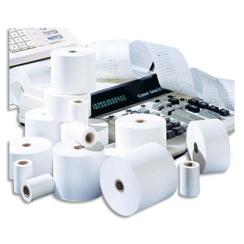 EXACOMPTA Bobine calculatrice 57 x 50 x 12 mm, 20 mètres, papier 1 pli offset extra-Blanc 60g FSC photo du produit Principale L