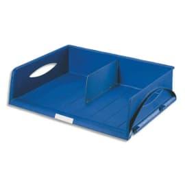 LEITZ Corbeille Sorty format paysage A3 - Bleu - L 49 x H 12,5 x P 38,5 cm photo du produit