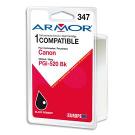 ARMOR Cartouche compatible Jet d'encre Noir CANON PGi-520 B12464R1 photo du produit