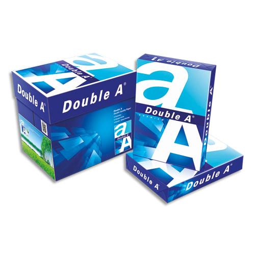 ALIZAY Ramette 500 feuilles papier extra Blanc PREMIUM DOUBLE A A4 80G CIE 165 photo du produit Principale L