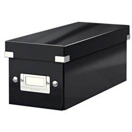 LEITZ Boîte de rangement CD Click&Store Office Noir - contenance de 22 boîtes standard ou 44 slim photo du produit