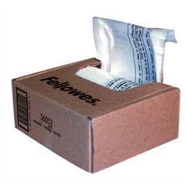 FELLOWES Boîte de 100 sacs pour destructeurs jusqu'à 34 litres - Série 90/99/AutoMax130 et 200C - 36053 photo du produit