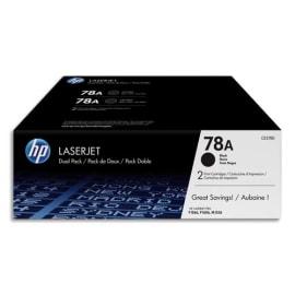 HP Pack de 2 cartouches Laser Noir CE278AD photo du produit