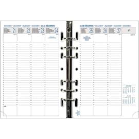 EXACOMPTA Recharge millésimé verticale Exatime 21, 16 mois SAD, 1 semaine sur 2 pages photo du produit