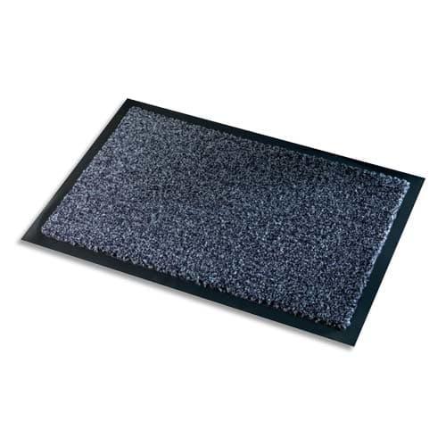 PAPERFLOW Tapis d'accueil intérieur Premium, en polyamide. Coloris Gris. Dim. 60 x 90 cm, épaisseur 10 mm photo du produit Principale L