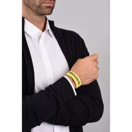 AVERY Sachet de 50 Bracelets d identification imprimables Laser Jaune 26,5 x 1,8 cm photo du produit
