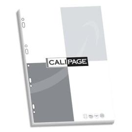 CALIPAGE Etui carton de 100 pages copies doubles A4 grands carreaux 90g perforées photo du produit