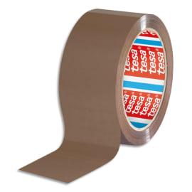 TESA Adhésif d'emballage en Polypropylène qualité supérieure 60 microns - H50 mm x L66 mètres Havane photo du produit