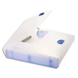 TARIFOLD Valisette Bleue polypro rigide, format 26,1x36,7x4,4 photo du produit
