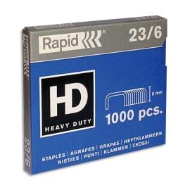 RAPID Agrafes Nº23/6 en boîte de 1000 photo du produit