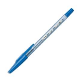 PILOT Stylo à bille rechargeable pointe moyenne encre Bleue corps plastique cristal avec capuchon BP-SM photo du produit