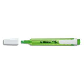 STABILO Surligneur de poche pointe biseautée Vert Swing Cool photo du produit